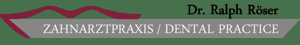 Dr Roeser Zahnarztpraxis Logo