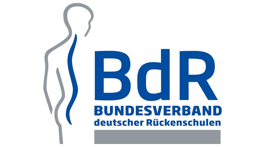 bundesverband deutscher rueckenschulen bdr ev logo